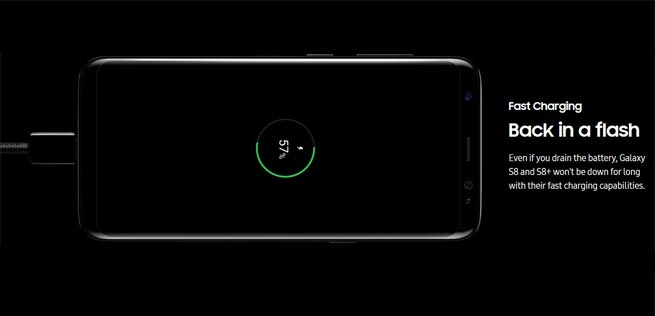 fast charging not working on galaxy s8