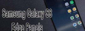 edge panels on samsung galaxy s8
